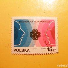 Sellos: POLONIA 83 - AÑO MUNDIAL DE LAS TELECOMUNICACIONES.. Lote 205576890