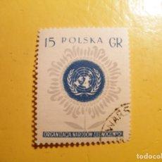 Sellos: POLONIA - NACIONES UNIDAS.. Lote 205579671