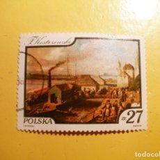 Sellos: POLONIA - PINTURA - FRANCISZEK KOSTRZEWSKI.. Lote 205581325