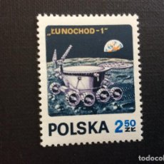 Timbres: POLONIA Nº YVERT 1970*** AÑO 1971. LUNA 17. VEHICULO LUNOKHOD 1. Lote 206591540