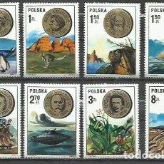 Sellos: 140-SERIE COMPLETA SELLOS POLONIA 1973 Nº 2121/28 CIENCIA CIENTIFICOS ,PERSONAJES.. Lote 210783655