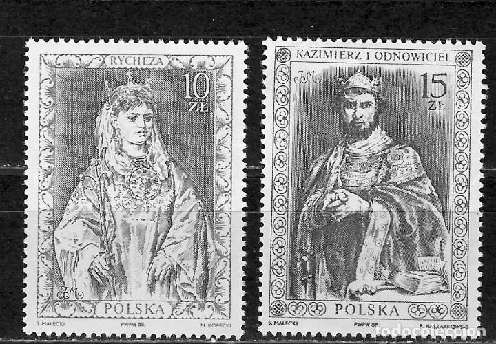 POLONIA Nº 2984 AL 2985 (**) (Sellos - Extranjero - Europa - Polonia)