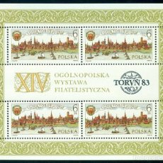 Sellos: PL-2877 POLAND 1983 MNG 750TH ANNIVERSARY OF TORUN ARCHITECTURE, TOURISM. Lote 221674545