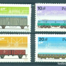 Sellos: PL-2996 POLAND 1985 MNH 40TH ANNIVERSARY OF THE PAFAWAG STEAM LOCOMOTIVE AND TRAIN FACTORY IN WROCLA. Lote 221674565