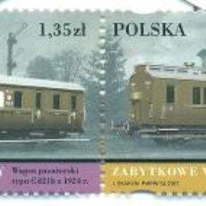 Sellos: PL-4314-2 POLAND 2007 MNH VINTAGE TRAINS THE TRAINS. Lote 221674618