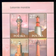Sellos: PL-4324 POLAND 2007 MNH LIGHTHOUSES LIGHTHOUSES. Lote 221674633
