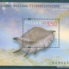 Sellos: PL-4186 POLAND 2005 MNH WORLD PHILATELIC EXHIBITION SYDNEY 2005 SEA SHELLS. Lote 221674650