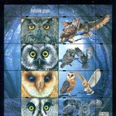 Sellos: PL-4803 POLAND 2015 MNH BIRDS. Lote 221674653