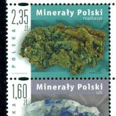 Sellos: PL-4640 POLAND 2013 MNH POLISH MINERALS MINERALS. Lote 221674658