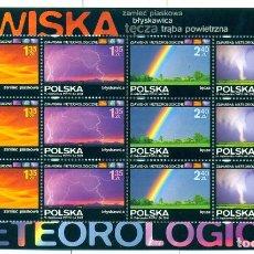 Sellos: PL-4362 POLAND 2008 MNH WEATHER PHENOMENA NATURE, RAINBOW. Lote 221674670