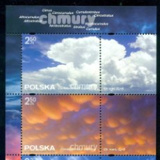 Sellos: PL-4849 POLAND 2016 MNH THE CLOUDS NATURE, THE CLOUDS. Lote 221674683