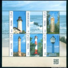 Sellos: PL-4777 POLAND 2015 MNH LIGHTHOUSES LIGHTHOUSES. Lote 221674690
