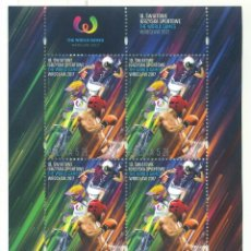 Sellos: PL-4920 POLAND 2017 MNH WORLD GAMES - WROCLAW, POLAND SPORT. Lote 221674725