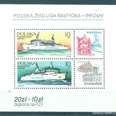 Sellos: PL-3032 POLAND 1986 MNH POLISH BALTIC SHIPS SHIPS. Lote 221675040