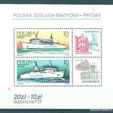 Sellos: PL-3032 POLAND 1986 MNH POLISH BALTIC SHIPS SHIPS. Lote 221675040