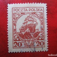 Timbres: +POLONIA, 1925, YVERT 316. Lote 222977635
