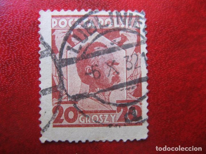 +POLONIA, 1927, JOZEF PILSUDSKI, YVERT 332 (Sellos - Extranjero - Europa - Polonia)