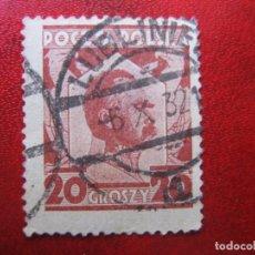 Francobolli: +POLONIA, 1927, JOZEF PILSUDSKI, YVERT 332. Lote 223015431