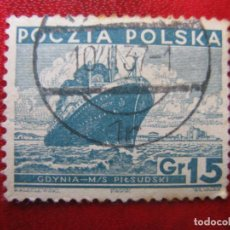 Timbres: +POLONIA, 1935, YVERT 381. Lote 223020780