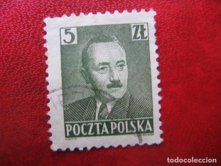 +POLONIA, 1950, PRESIDENTE BIERUT, YVERT 574 (Sellos - Extranjero - Europa - Polonia)