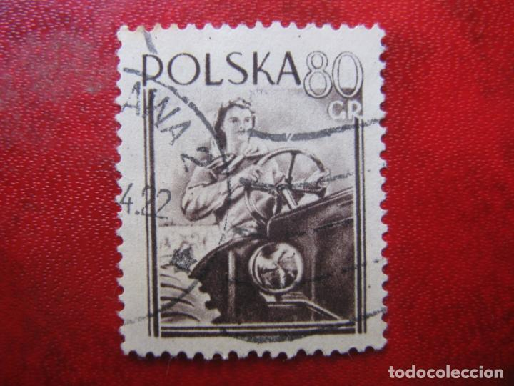 +POLONIA, 1954, DIA INTERNACIONAL DE LAS MUJERES, YVERT 743 (Sellos - Extranjero - Europa - Polonia)