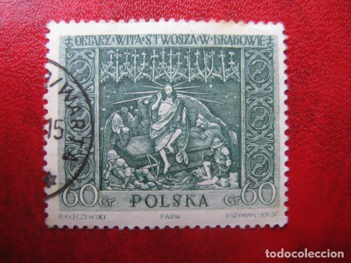 +POLONIA, 1960,OBRAS DE ARTE NACIONALES,LA RESURRECCION, YVERT 1047 (Sellos - Extranjero - Europa - Polonia)