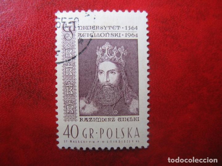 +POLONIA, 1964, 6 CENTENARIO UNIVERSIDAD DE CRACOVIA, YVERT 1342 (Sellos - Extranjero - Europa - Polonia)
