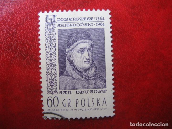 +POLONIA, 1964, 6 CENTENARIO UNIVERSIDAD DE CRACOVIA, YVERT 1345 (Sellos - Extranjero - Europa - Polonia)