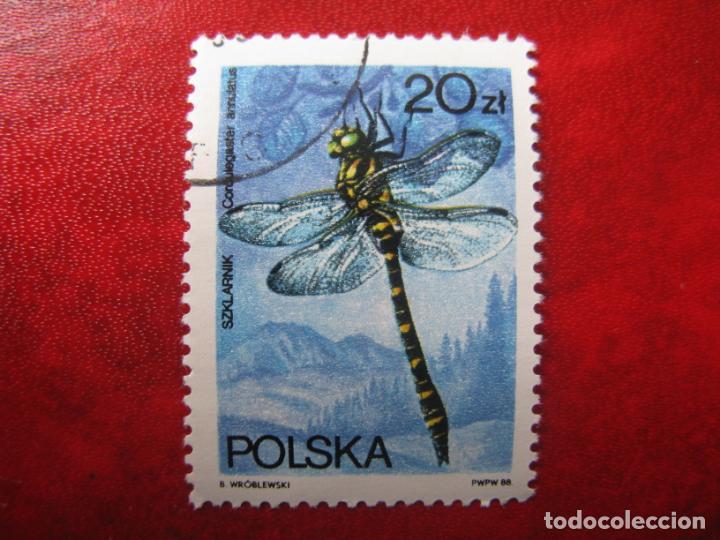 +POLONIA, 1988, FAUNA,LIBELULAS, YVERT 2944 (Sellos - Extranjero - Europa - Polonia)