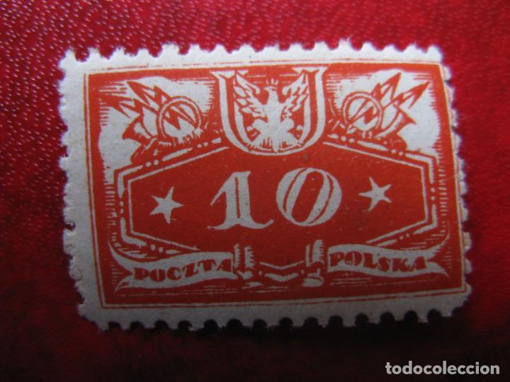 +POLONIA, 1920,SELLO DE SERVICIO YVERT 3 (Sellos - Extranjero - Europa - Polonia)