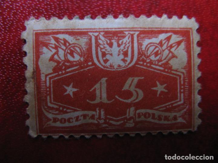 +POLONIA, 1920, SELLO DE SERVICIO YVERT 4 (Sellos - Extranjero - Europa - Polonia)