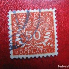 Timbres: +POLONIA, 1919, SELLO DE TASA YVERT 19. Lote 223287163