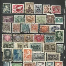 Sellos: G557-LOTE SELLOS ANTIGUOS POLONIA,CLASICOS,SIN TASAR,SIN REPETIDOS,IMAGEN REAL. POLAND OLD STAMPS LO. Lote 223679566