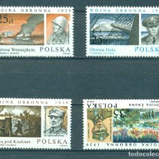 Sellos: PL-3220 POLAND 1989 MNH 50TH ANNIVERSARY OF THE START OF WORLD WAR II. Lote 226316500
