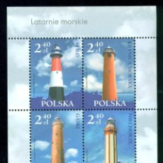 Sellos: PL-4248 POLAND 2006 MNH LIGHTHOUSES. Lote 226317985
