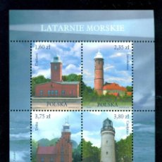 Sellos: PL-4617 POLAND 2013 MNH LIGHTHOUSES. Lote 226318301