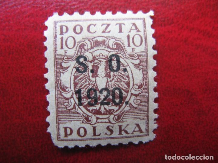 SILESIA ORIENTAL, 1920, SELLO DE POLONIA SOBRECARGADO YVERT 36 (Sellos - Extranjero - Europa - Polonia)