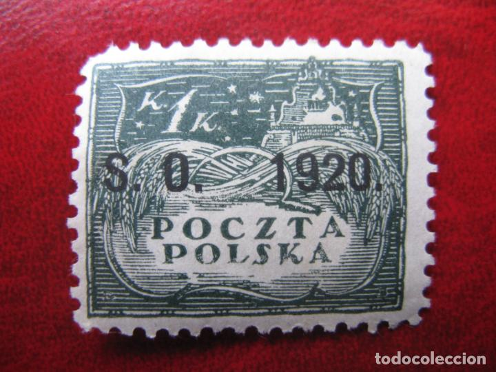 SILESIA ORIENTAL, 1920, SELLO DE POLONIA SOBRECARGADO YVERT 40 (Sellos - Extranjero - Europa - Polonia)