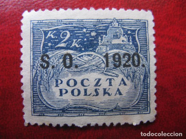 SILESIA ORIENTAL, 1920, SELLO DE POLONIA SOBRECARGADO YVERT 42 (Sellos - Extranjero - Europa - Polonia)