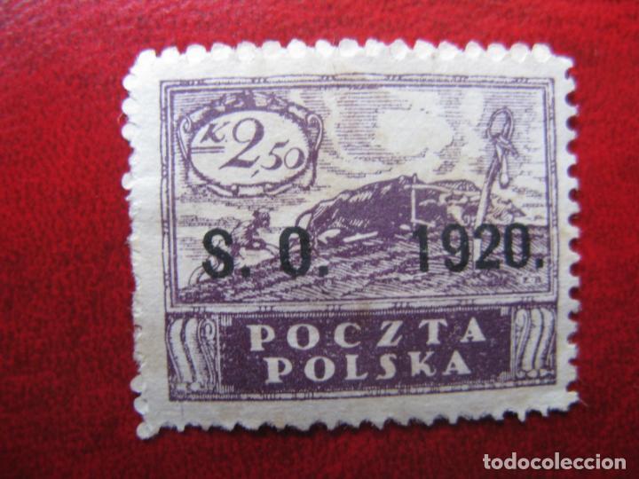 SILESIA ORIENTAL, 1920, SELLO DE POLONIA SOBRECARGADO YVERT 43 (Sellos - Extranjero - Europa - Polonia)