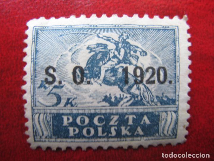 SILESIA ORIENTAL, 1920, SELLO DE POLONIA SOBRECARGADO YVERT 44 (Sellos - Extranjero - Europa - Polonia)