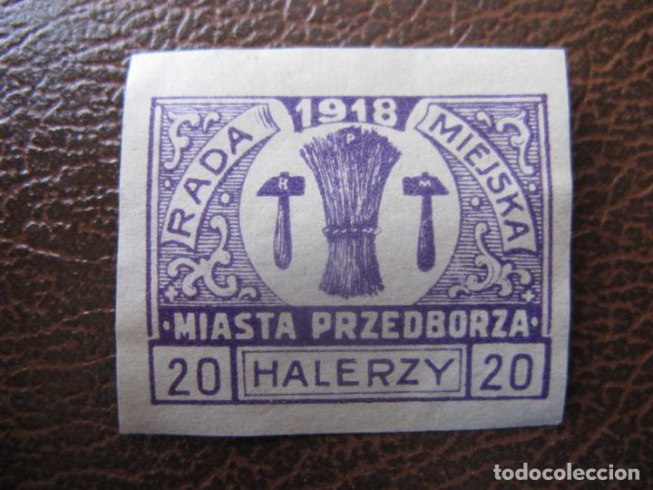 +POLONIA, 1918, SELLO LOCAL SIN DENTAR (Sellos - Extranjero - Europa - Polonia)