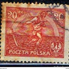 Timbres: POLONIA // YVERT 226A // 1921-22 ... USADO. Lote 229033500