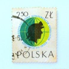 Sellos: SELLO POSTAL POLONIA 1959, 2,50 ZT, CONGRESO DE MINEROS, USADO. Lote 231953825