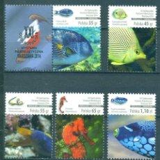 Sellos: PL4724 POLAND 2014 MNH CORAL FISH. Lote 232313295