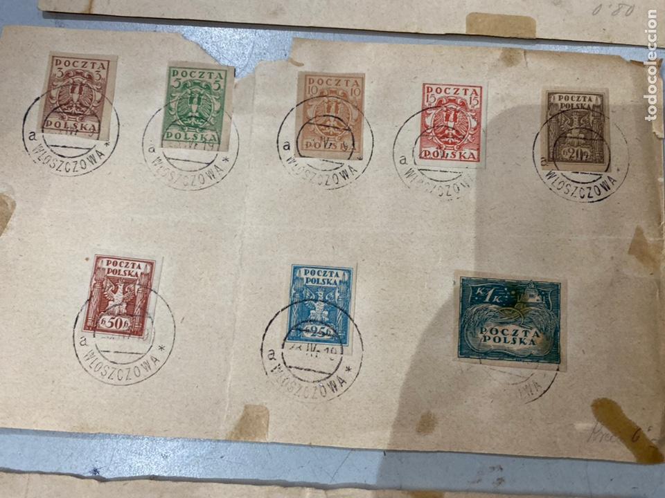 Sellos: Lote sellos POCZTA POLSKA Polonia antiguos ver fotos - Foto 4 - 233992840