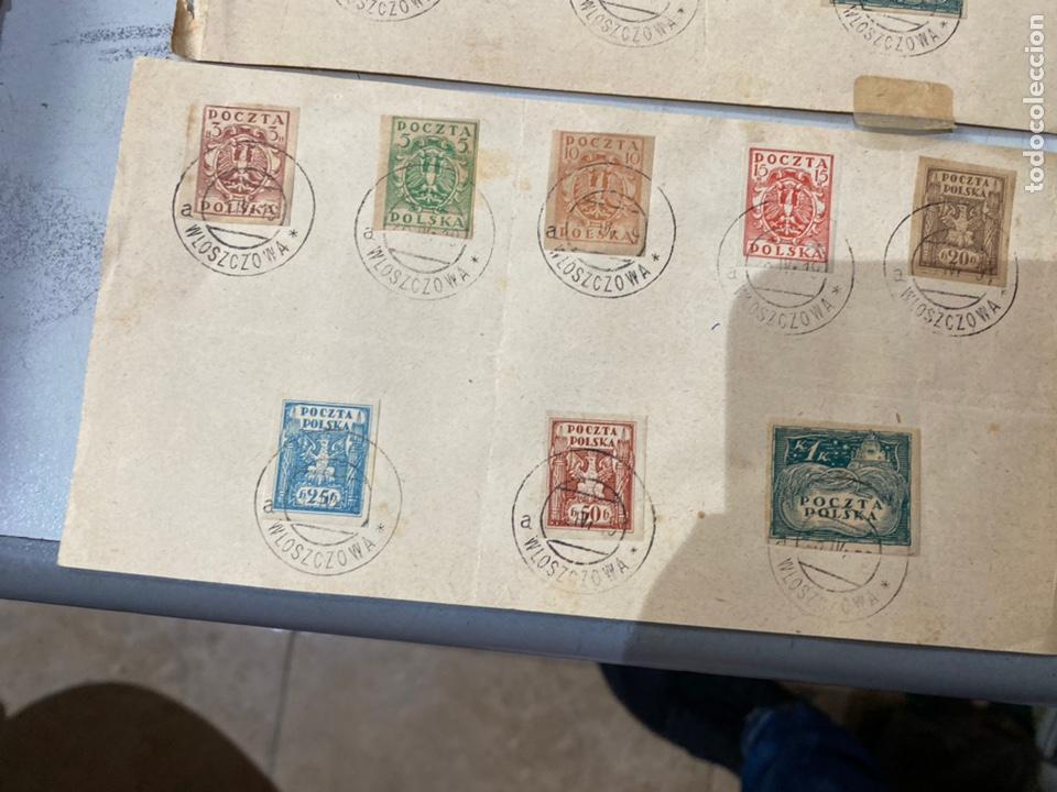 Sellos: Lote sellos POCZTA POLSKA Polonia antiguos ver fotos - Foto 8 - 233992840