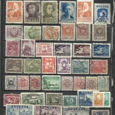 Sellos: R239-LOTE SELLOS ANTIGUOS POLONIA,CLASICOS,SIN TASAR,SIN REPETIDOS,IMAGEN REAL. POLAND OLD STAMPS LO. Lote 235240805