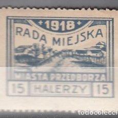 Sellos: POLONIA. 1918. IMPUESTOS LOCALES.. Lote 235452505