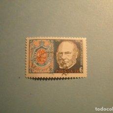Sellos: POLONIA - GRANDES PERSONAJES - SR. ROWLAND HILL. Lote 236883040